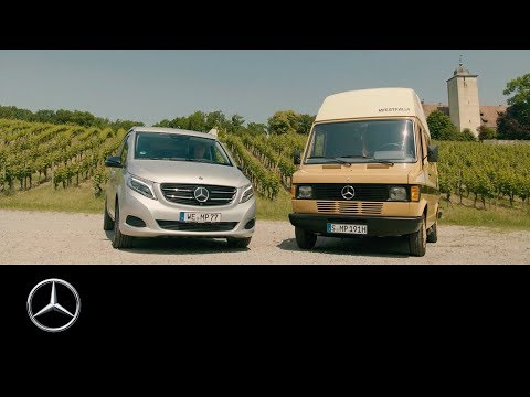 A meeting of the generations – Marco Polo 209 D vs. 250 d camper evolution.