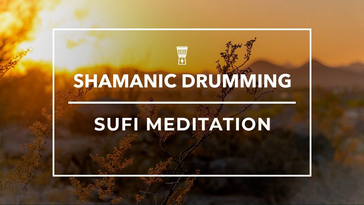 SHAMANIC DRUMS + SUFI DANCE MEDITATION ❯ Deep Trance Meditation for Stress Relief | KSC