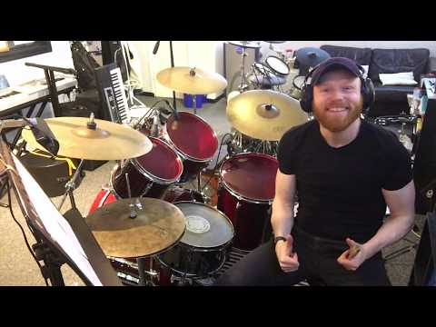 """How To Play """"Come As You Are"""" By Nirvana On Drums - Note-For-Note Drum Cover"""