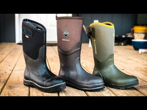 Homestead BOOT REVIEW | Muck Boots Vs Bogs Vs Lacrosse