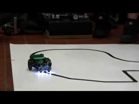 Compétition de robots Maisonneuve 2013 - 1er prix