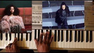 Ella Mai SHOT CLOCK PIANO TUTORIAL E MINOR.mp3