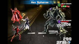 Marvel Avengers Alliance: Deadpool vs Kurse oneshot