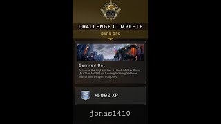 GEMMED OUT dark ops challenge complete /130kill game play (call of duty BO4)