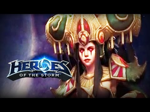 ♥ Heroes of the Storm (Gameplay) - Zagara, Spread The Creep (HoTs Quick Match)