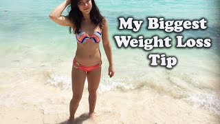 My Biggest Weight Loss Tip || Mini Rant