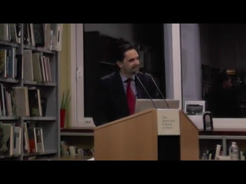 Anthony Lacoudre @ The American Library in Paris |22 March 2016