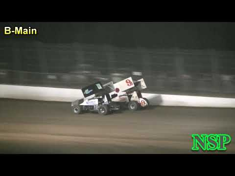 August 18, 2018 ISCS Sprints B-Main Grays Harbor Raceway
