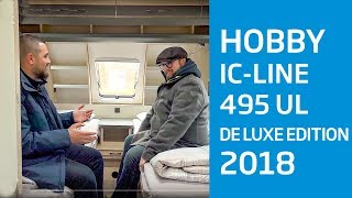 Hobby de Luxe edition 495 UL IC Silverline - Modell 2018