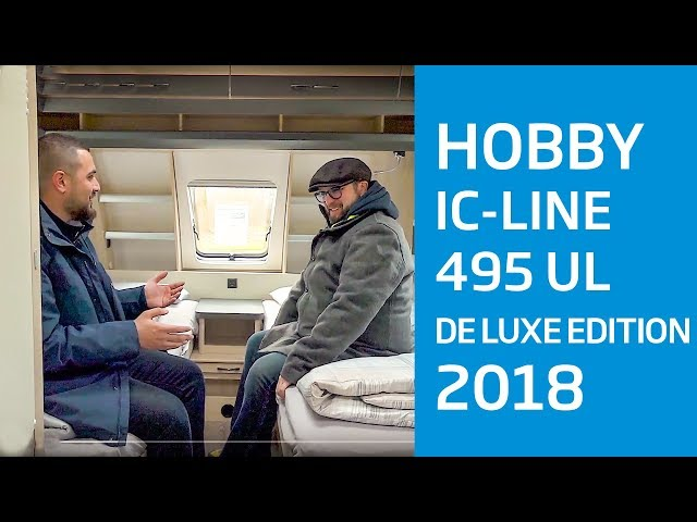 Hobby de Luxe edition 495 UL IC Silverline - Modell 2018