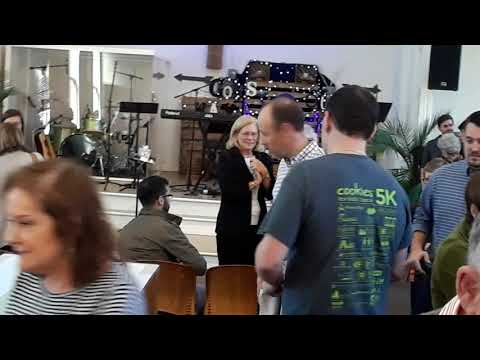 A real spontaneous baptism