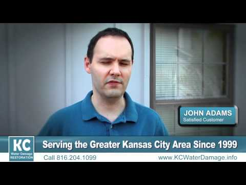 Water Damage Kansas City, MO, Overland Park, Mission Hills, Lee's Summit, Leawood, Independence