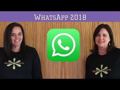 WhatsApp 2018 -