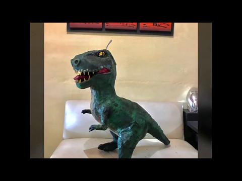 Piñata Tiranosaurio Rex