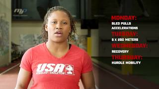 Lauryn Williams: Week 4 100m Training Plan - Speed Endurance