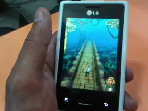 LG Optimus L3 E400 supports Temple Run