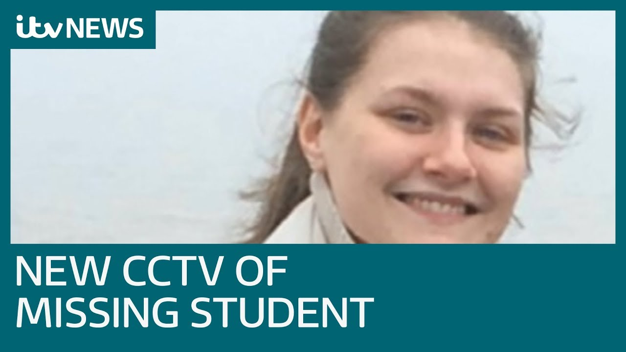 New CCTV of missing Hull student handed over to police | ITV News