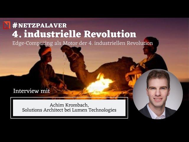 Interview mit Lumen - Edge-Computing als Motor für die 4. industrielle Revolution
