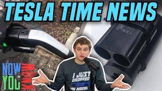 Tesla Time News - Tesla Adds CCS Adapter!
