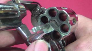 Removing Burn Rings From The Cylinder Face Of A Revolver