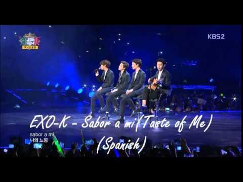 Sabor a mi EXO-K instrumental