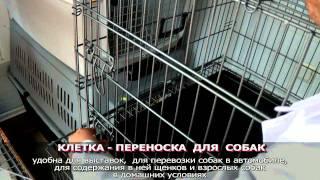 Клетка - переноска для собак • Зоомагазин Киев