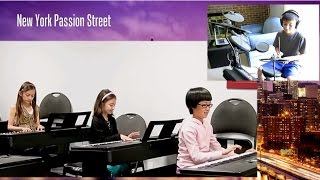 New York Passion Street - Yamaha music students ensemble