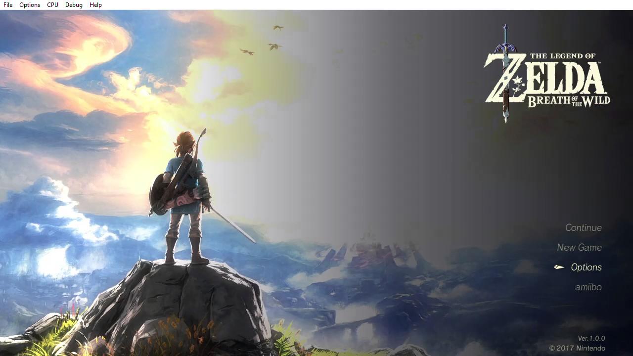 Cemu [Wii U Emulator] - Zelda Breath of the Wild PC Edition [Issue