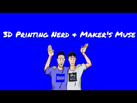 3D Printing Nerd chatting with Maker's Muse