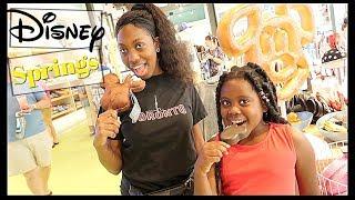 Disney Springs   Family Vlogs   JaVlogs