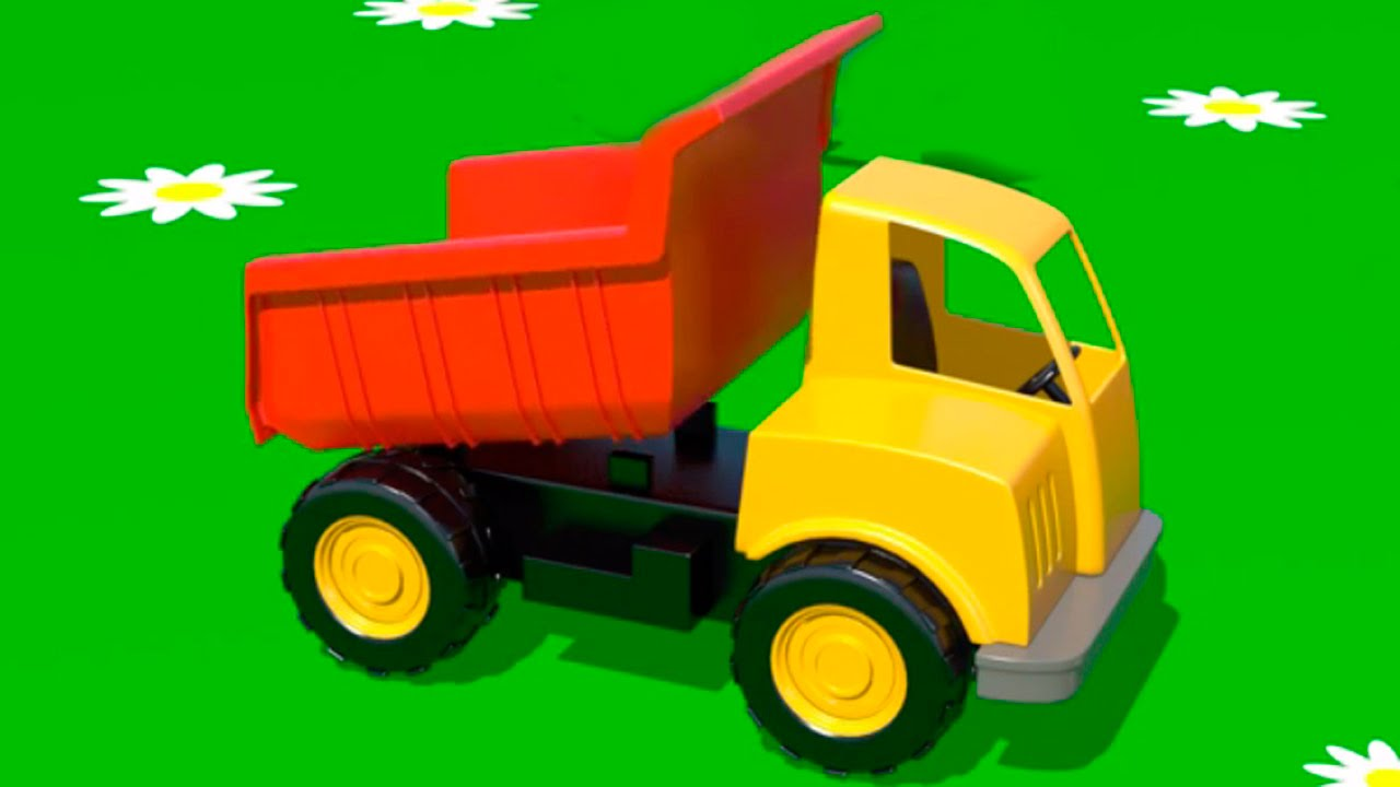 Cartoni animati per bambini costruire un camion e