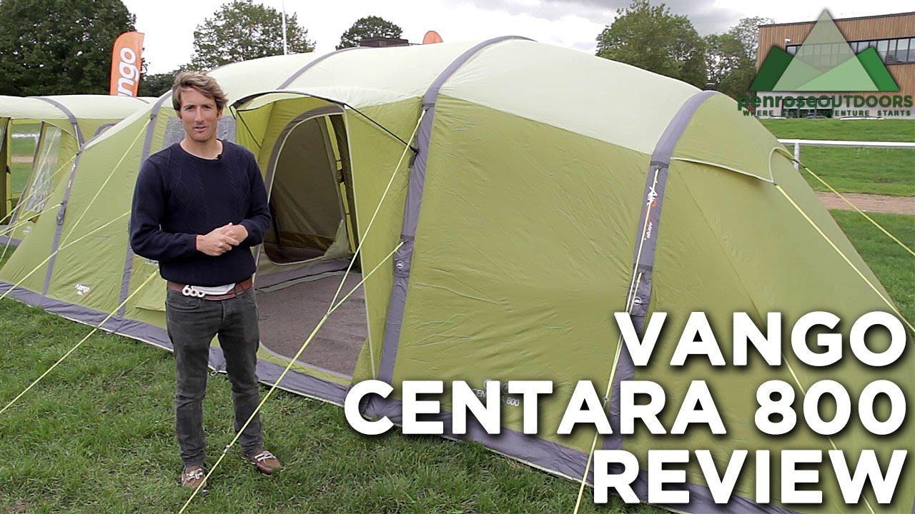 Vango Centara 800 AirBeam Tent Review & Vango Centara 800 AirBeam Tent Review - YouTube