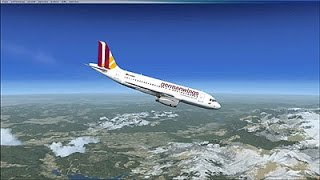 Rückblende, Absturz der Germanwings - Maschine