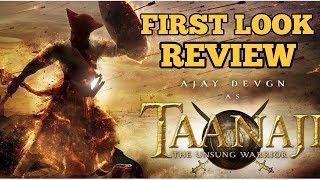 TAANAJI   FIRST LOOK   REVIEW   AJAY DEVGN