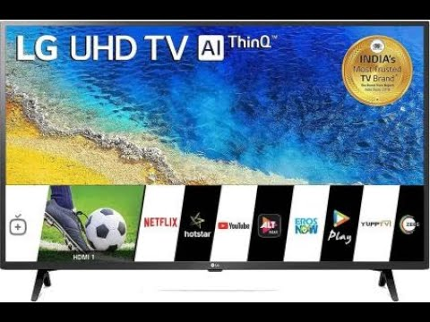 LG 43Inch Ultra HD 4K LED Smart Tv(43UM7290PTF)