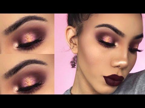 EASY Vampy Glam Makeup Tutorial   GRWM - Asurekazani