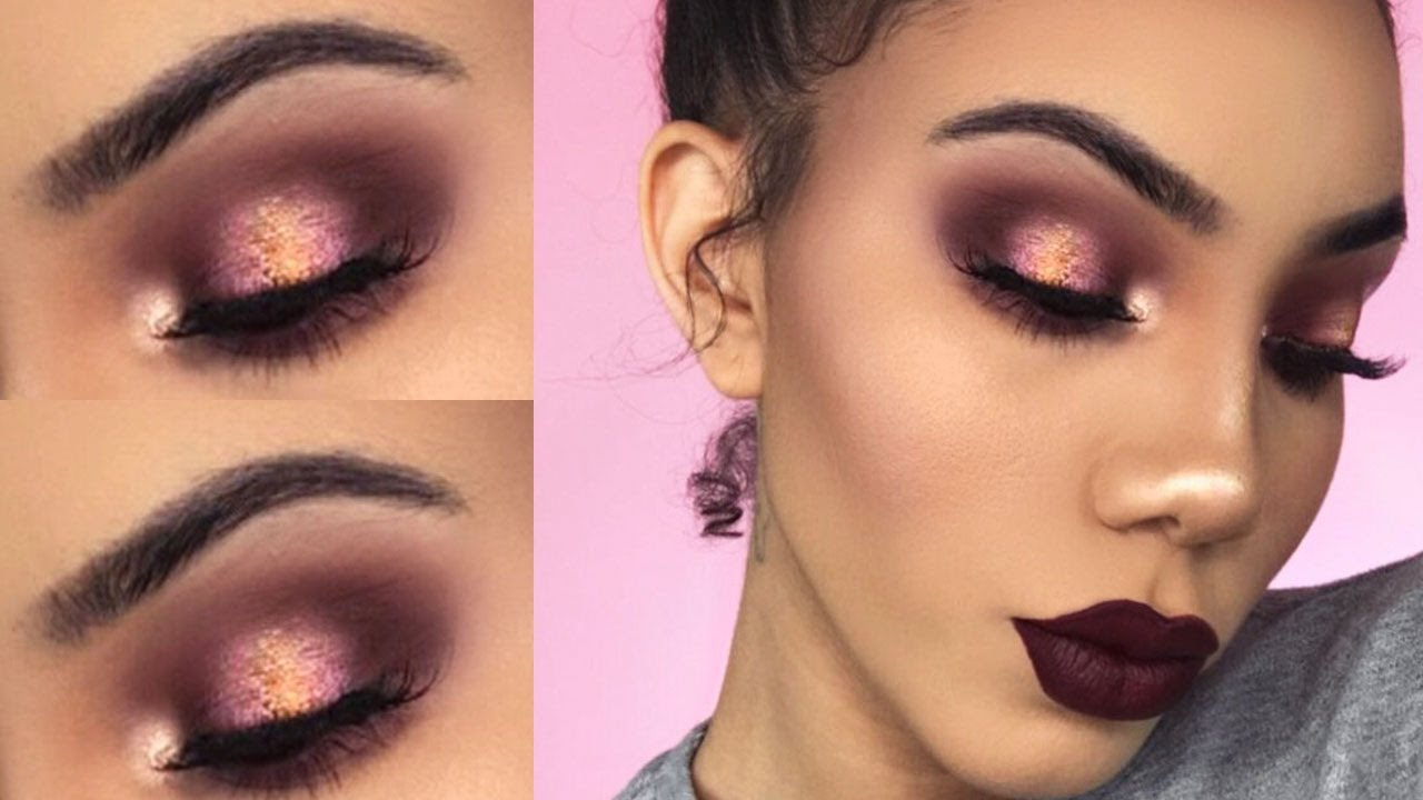 Easy Vampy Glam Makeup Tutorial Grwm Youtube