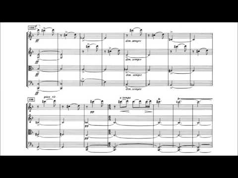Edvard Grieg - String Quartet No. 2 in F Major [With score]