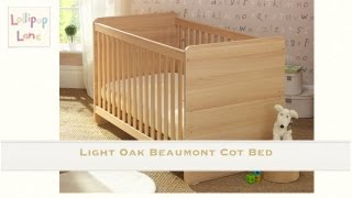 The Beaumont Cot Bed From Lollipop Lane