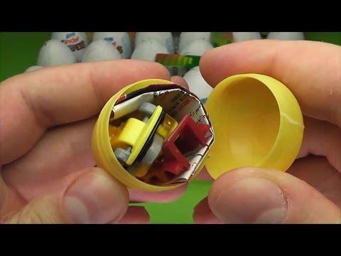 Видео картинки киндер сюрприз, открываем шоколадные яйца