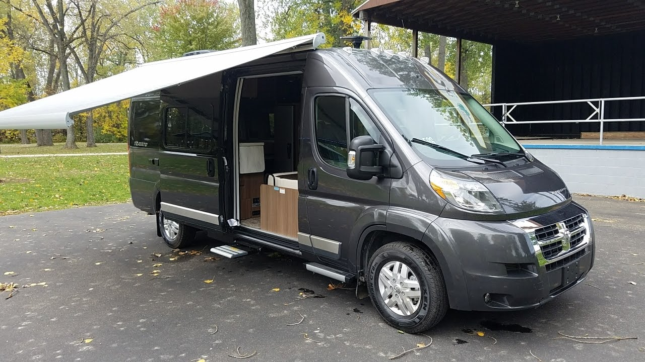 2017 - Winnebago Travato 59G - RAM Promaster - YouTube
