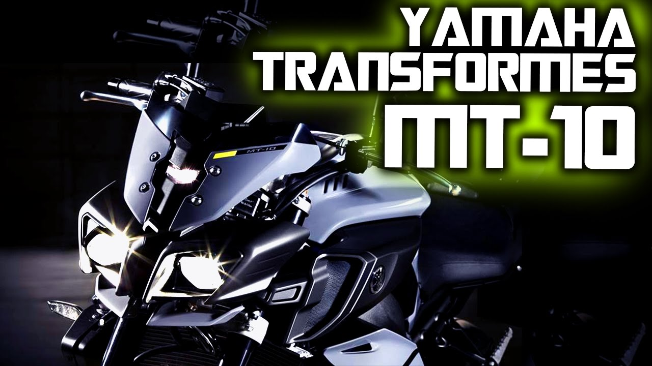 YAMAHA TRANSFORMERS MT 10   TRAILER