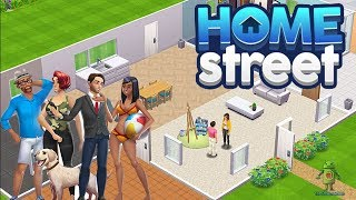 HOME STREET GAMEPLAY - iOS / Android - New SIMS game