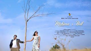 MAHIMA & NEIL Pre Wedding ( RAJ the foto pavilion - Parvat Patiya, Surat )