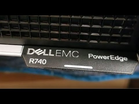 Dell R740 with PERC H740 RAID Configuration Ctrl-R