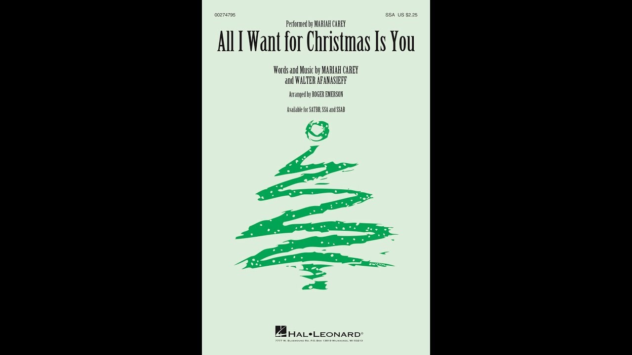 All I Want For Christmas Is You | Hal