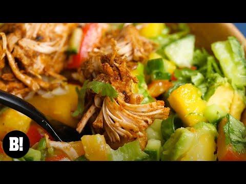 Pulled Pork Bowl Bosh Vegan Youtube
