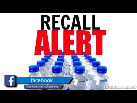 BOTTLED WATER RECALL: Name Brands Named E-Coli Contamination
