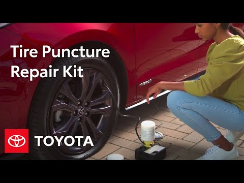 Toyota How To: Tire Puncture Repair Kit | Toyota
