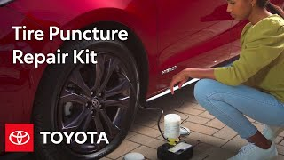 homepage tile video photo for Toyota How To: Tire Puncture Repair Kit | Toyota